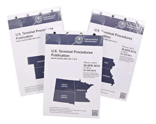 FAA TPP, terminal procedures publications